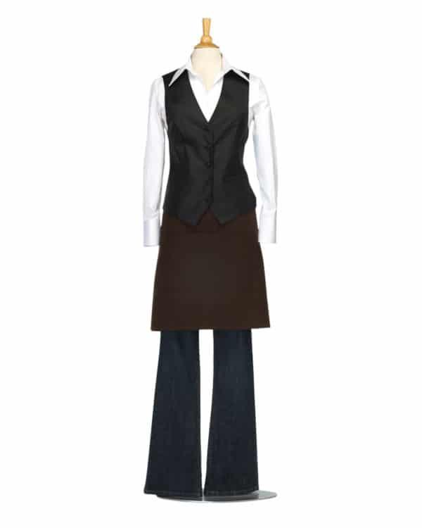 Women's Black Bistro Vest
