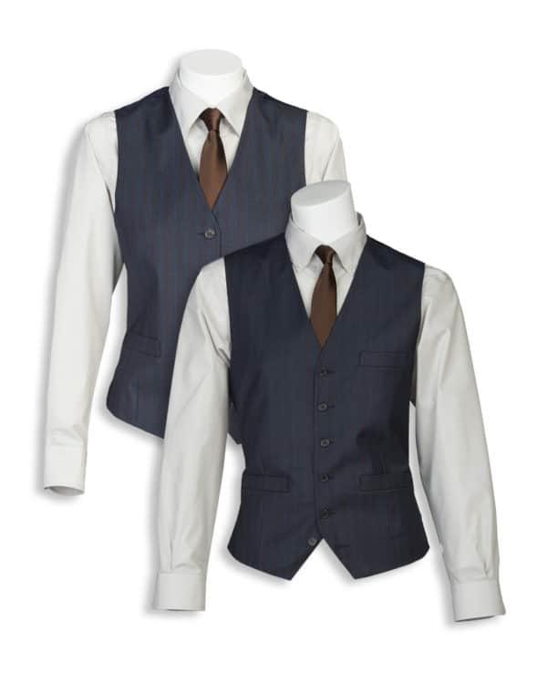 Tailored Micro Stripe Vest