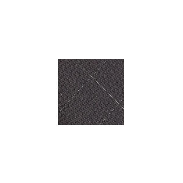 Windowpane Bowtie Swatch-Charcoalh