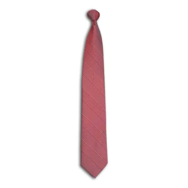 Houndstooth Plaid Tie-Cabernet