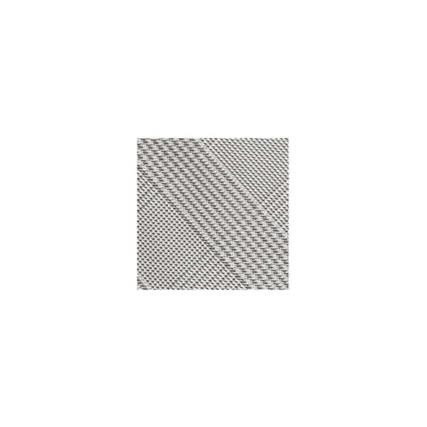 Houndstooth Plaid Tie Swatch-Charcoal