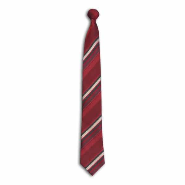 Ombre Stripe Tie-Cabernet
