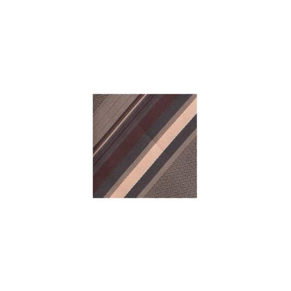 Ombre Stripe Tie Swatch-Chocolate