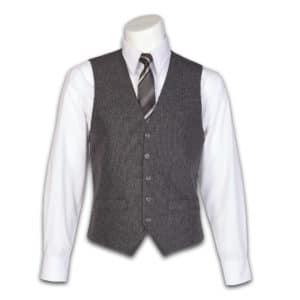 Men's Charcoal Heather Vest