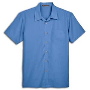 Harriton Barbados Textured Camp Shirt